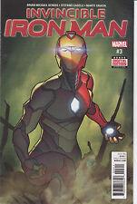 Marvel Comics Invincible Iron Man #3, Near Mint, Never Read!