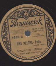 Duo Augustin Magaldi - Noda mit Guitarre : Una Paloma - Fado