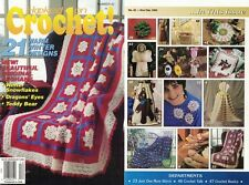 Hooked on Crochet Magazine #42 Dragons Eyes, Teddy Bear, Snowflakes & More