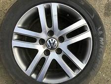 "Genuine VW Golf Touran Jetta 16"" pouces Atlanta De Rechange Roue Alliage TDI 1K0601025BM"