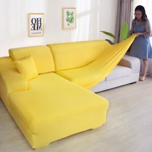 Elastic Spandex Slipcovers Couch Cover Stretch Sofa Towel Corner Sofa Covers