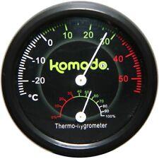 Komodo Combinato Analogico Igrometro & Termometro Terrario Rettile