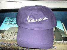 Vespa logo baseball style cap in purple