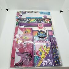 My Little Pony School Supplies Stationary 11-pc Value Pack Notebook Pens Folder+