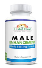 Male Enhancement Pills - All Natural - Tongkat - Maca- L-Arginine -Panax Ginseng