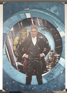 Doctor who A3 poster of 12 th Doctor designed by will brooks