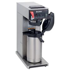 BUNN SINGLE AIRPOT COFFEE MAKER SYSTEM AUTOMATIC WITH FAUCET - CWTF15-APS-0017