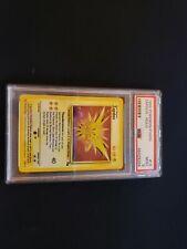 Pokemon PSA 9 MINT Unlimited Fossil Zapdos Holo 15/62 Rare Holo WOTC