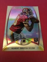 Robert Griffin III Redskins 2012 Topps Platinum Rookie #120