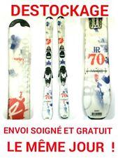 "ski enfant ROSSIGNOL ""BANDIT""  taille:150cm+fixations"