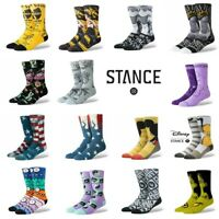 Stance Socks Mens Crew Athletic Wu-Tang Bruce Lee Disney Tupac USA Flag Size L