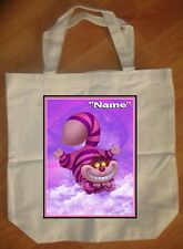 """""""Cheshire Cat Alice In Wonderland"""" Personalized Tote Bag - NEW"""