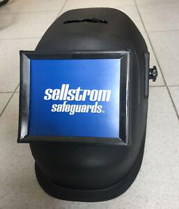 Pantalla Soldadura visor Abatible 114x133 SELLSTROM Filtro - Hecho en USA