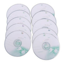 10 Stk 52X CD-R 700MB 80Mins Rohlinge DVD-R Leere Blank Disc Recordable