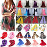 Women Floral Scarf Soft Long Shawls Wrap Pashmina Stole Scarves Winter Blanket