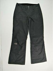 The North Face Dry Vent Black Insulated Ski Snowboard Snow Pants Wms Medium EUC
