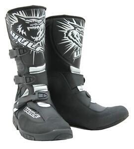 Wulfsport Adult speedway / grasstrack Black Boots size 40 uk size 7