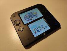 Nintendo 2DS Noir/Bleu + carte SD 8gb avec 9 Jeux préinstallées