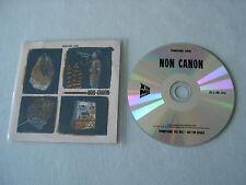 NON CANON Non Canon promo CD album