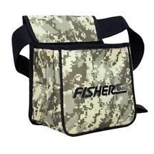 Fisher Camo Pouch for Metal Detecting