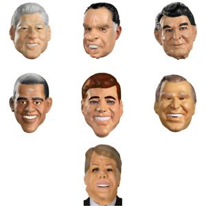 Presidential Masks (Choose President) Clinton Bush Carter Reagan Point Break