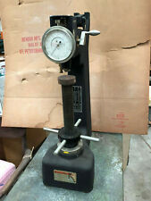 Vintage Rockwell Type Hardness Tester With Accessories