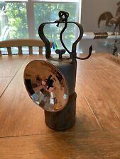 Vintage Coal Miner's Metal Lantern