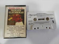 RICHARD CLAYDERMAN GRANDES EXITOS DE - CASSETTE TAPE CINTA OLYMPO 1983