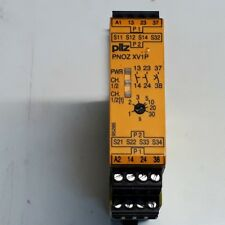 Pilz, PNOZ XV1P, Pilz Safety Relay Single or Dual Channel with 2 Safety Contacts