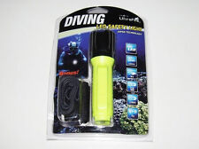 New UltraFire WF-3430 Cree T6 LED 800 lumens Diving Flashlight 50M ( Yellow )