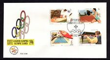 Malta 1996 Olympics Games First Day Cover FDC SG 1022 - 1025 Not Addressed