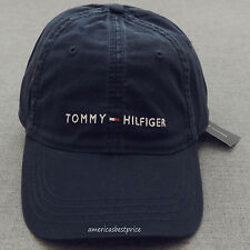 ffb3f53a8b3 TOMMY HILFIGER NEW MEN S BASEBALL CAP HAT BLUE NAVY WHITE RED BLUE NICE CAPS