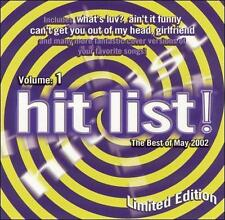Hit List 1: The Best of May 2002 Various Artists MUSIC CD