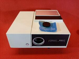 Airequip 440 EF Vintage Slide Projector, Tested Good, Needs Bulb