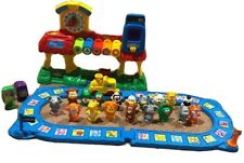 Vtech Smartville Alphabet Train Station Fun Learning Toy Tested Working