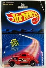 Hot Wheels 3-Window 34 ZZ Top Early Card - RARE