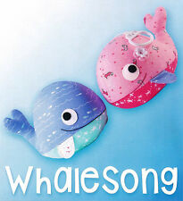 Whalesong PATTERN by Melly and Me - Softie pattern - Fabrics4u2