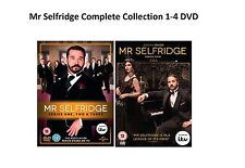 Mr Selfridge Complete Collection Series 1 - 4 DVD All Episode Season 1 2 3 4 New