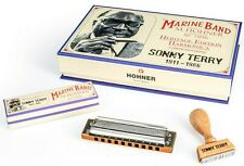 Sonny Terry Heritage Edition Hohner Marine Band Harmonica - Collector's Edition