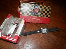 Dale Earnhardt Sr Watch and Figurine, Collectibles