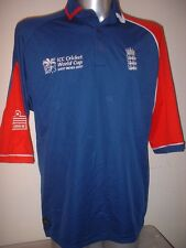 England Cricket Shirt Jersey Adult Large Player Issue BNWOT World Cup Admiral