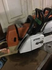"STIHL 034 AV CHAINSAW, WITH 20"" BAR AND CHAIN, GOOD CONDITION! Just rebuilt"