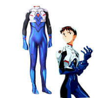 EVA Neon Genesis Evangelion Shinji Cosplay Costume Spandex Jumpsuit Zentai