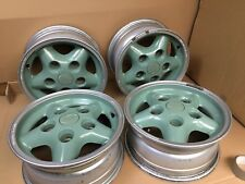 """4x Genuine Land Rover Heritage 16"""" Freestyle Alloy Wheels In Excellent Condition"""