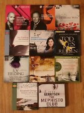 Hörbuchpaket, Hörbücher Sammlung, Krimi, Thriller, Romane, 11 Hörbücher CD + mp3