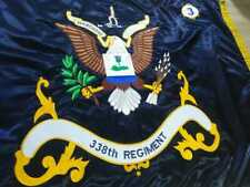 Us army Regiment embroidery flag very high quality 3×5 feet ship on same day