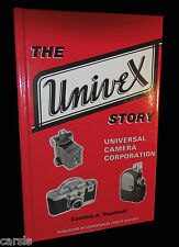 UNIVEX BOOK - STORY OF UNIVERSAL CAMERA, MERCURY II, BINOCULAR -NEW w/ AUTOGRAPH