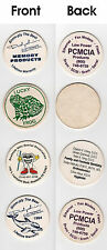 Odd Pogs (Milkcap Business Cards?)