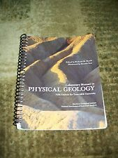 PHYSICAL GEOLOGY (Fifth Edition) Laboratory Manual - ISBN 13:978-1-256-72881-8