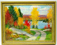"""CLAM LAKE ROAD"" - TOM STONE, OSA (1894-1978) - Oil"